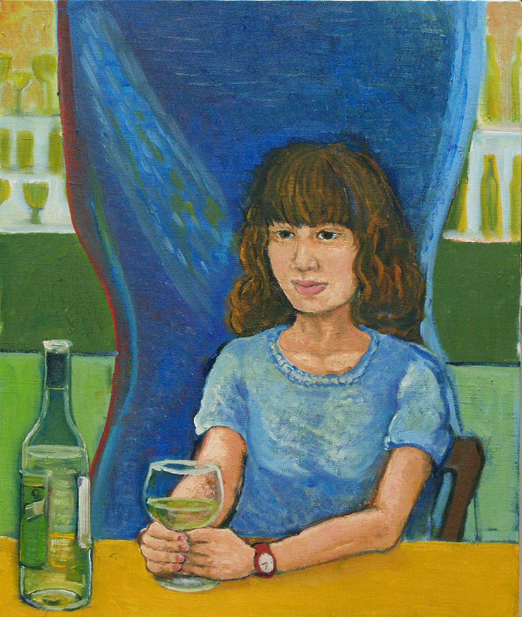 火曜絵画教室Oさんの作品
